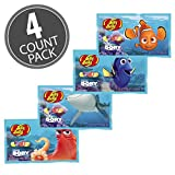 Jelly Belly Finding Dory Disney Pixar Jelly Beans 1 oz Bags (4 pack)