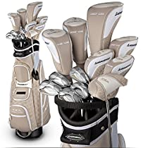 Adams Ladies Golf Idea A12OS Sandstone Integrated Set (Right-Hand, Ultralite Graphite, Ladies Flex)