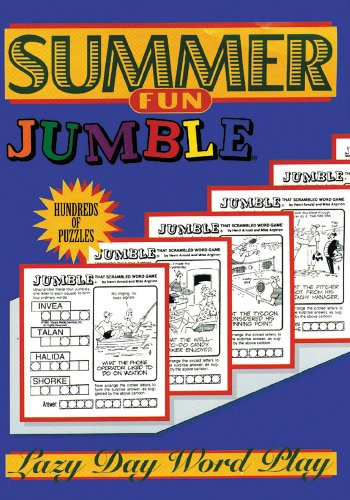 Summer Fun Jumble: Lazy Day Word Play (Jumbles)