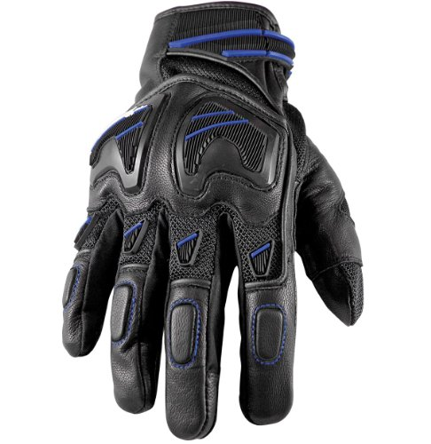 Speed and Strength Moment of Truth SP 2.0 Gloves - Small/Black/Blue