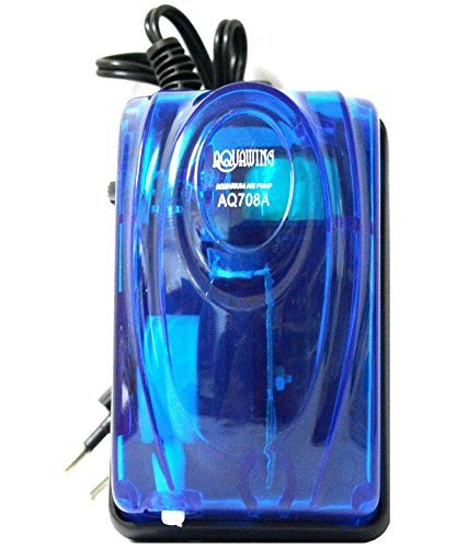 Aquarium Accessories( Air Stone Disk Water Oxygen Bubble with LED light + Air Pump )- Sold By VasuWorld