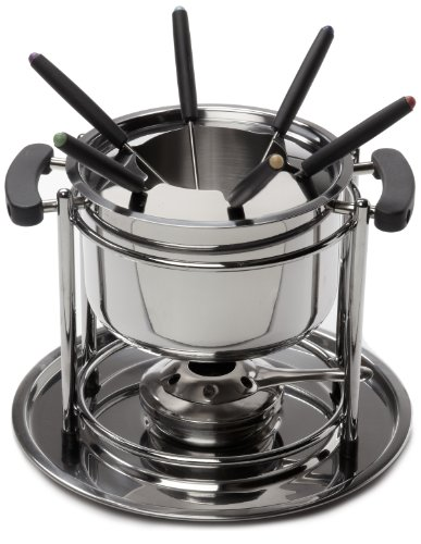 Learn More About ExcelSteel Fondue Set, 11-Piece Set