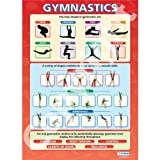 Gymnastics PE Educational Wall ChartPoster in laminated paper A1 850mm x 594mm
