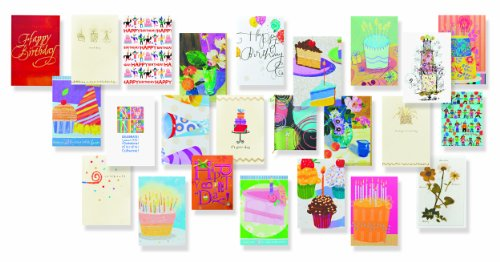 UNICEF Birthday Collection Boxed Cards
