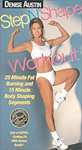 Amazon.com: Denise Austin - Step N Shape Workout [VHS]: Denise Austin