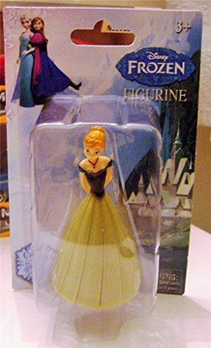 "DISNEY FROZEN FIGURE FIGURINE ANNA 3"" INCH 2014 NEW RARE NEW IN PACKAGE - 1"