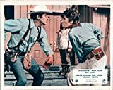 TEXAS ACROSS RIVER DEAN MARTIN ALIAN DELON LOBBY CARD