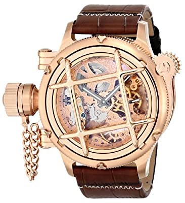 Invicta Men's 14627 Russian Diver Analog Display Mechanical Hand Wind Brown Watch