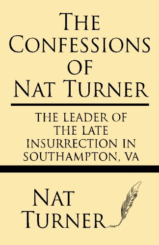 the confessions of nat turner and related documents pdf