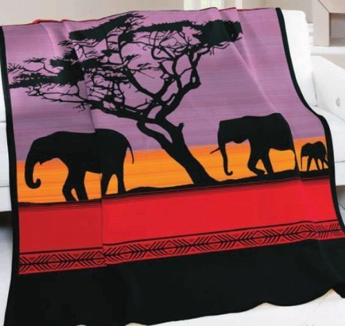 Kanata Blanket Company Biederlack Collection-african Dusk Blanket at Sears.com