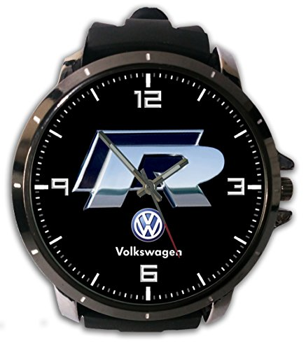New Custom Printed Volkswagen Scirocco Logo Watch Alloy Stainless-Steel With Rubber Band