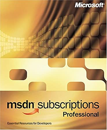 Microsoft MSDN Professional Subcription 7.0 [Old Version]