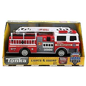 Tonka Lights And Sound Fire Engine Rescue Force Amazon