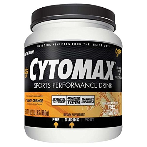 Cytosport Cytomax Powder, ORANGE, 1.5 LBS