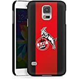 Samsung Galaxy S5 Hard Case Hülle schwarz - 1. FC Köln schwarz
