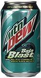 Mountain Dew Baja Blast 12 Pack of 12 Ounce Cans (Baja Blast)