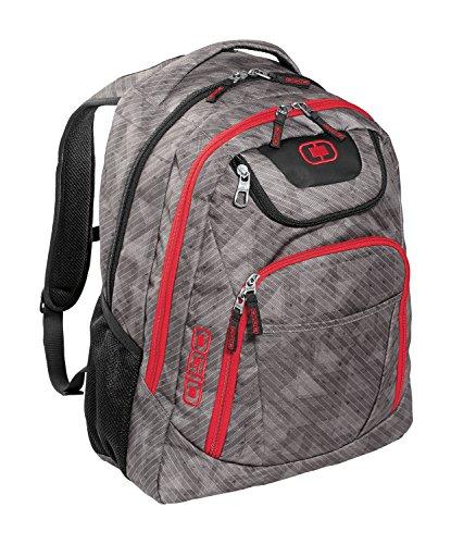Ogio Excelsior Padded Backpack (Cynderfunk/ Red)