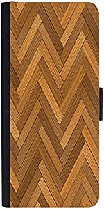 Snoogg Vector Wood Parquet Floor Graphic Snap On Hard Back Leather + Pc Flip ...