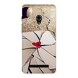 Ajay Enterprises broken heart by hammer Back Case Cover for Zenfone 5