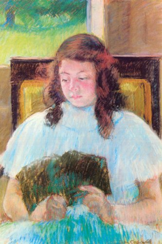 Art Poster, Young girl reading - 20x30 Amazon.com