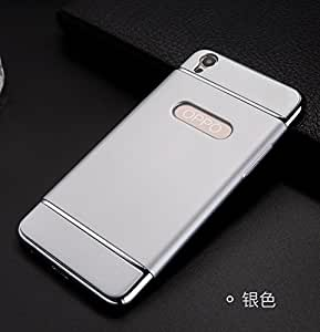 Oppo F1 Plus Back Cover For Oppo F1 Plus (Silver) By Vinnx
