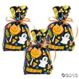 2 Dozen (24) HALLOWEEN Cellophane GOODY Bags/CELLO TRICK or Treat CANDY Bags/Favors/CANDY/SWEETS thumbnail