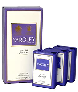 Yardley Of London Yardley English Lavender By Yardley Of London For Women. Luxury Soap Pack 3 X 3.5-Ounces