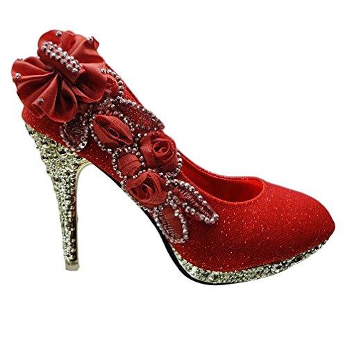 padgene luxuri s damen high heels stiletto absatz pumps. Black Bedroom Furniture Sets. Home Design Ideas