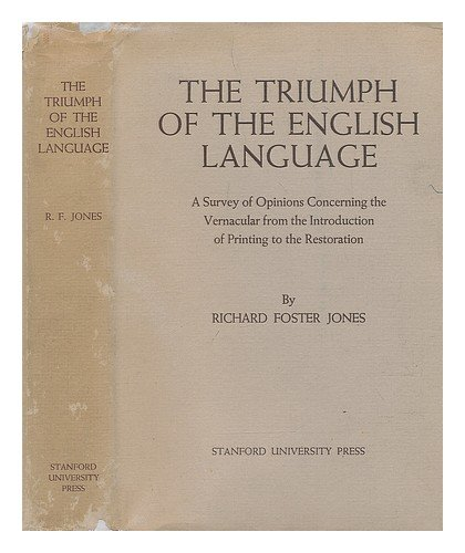 The Triumph of the English Language