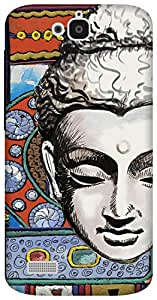 The Racoon Grip Buddhist Tapestry hard plastic printed back case for Huawei Honor Holly