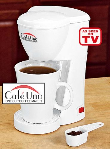 Cafe Uno One Cup Coffee Maker Reviews Best coffeemakers