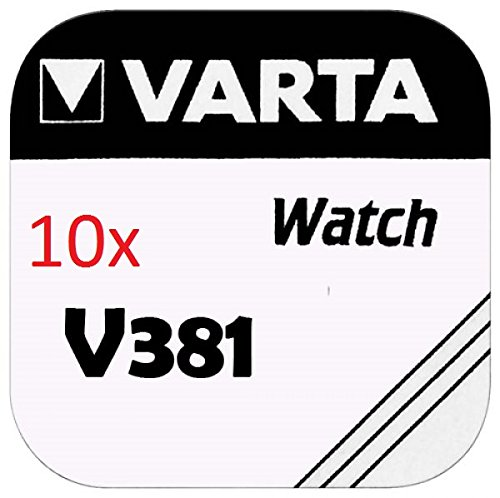 VARTA pILES bOUTON Lot de 10 - V381