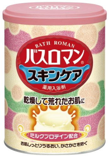 Bath Roman Natural Skincare ''Milk Protein'' Japanese Bath Salts - 680G