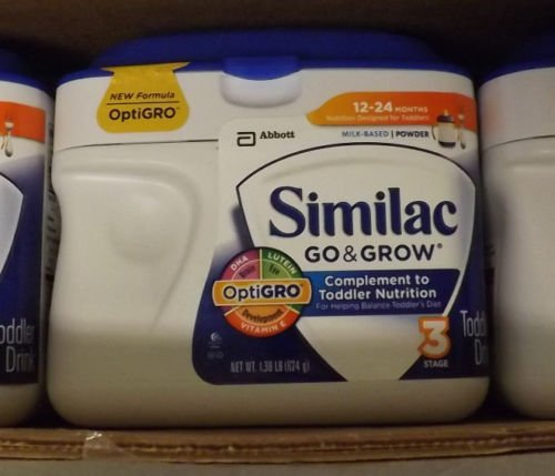Similac Go & Grow Milk-Based Complete Toddler Nutrition, Powder / 1.38 Lb