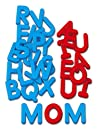 Color-Coded Magnetic Letters  Uppercase