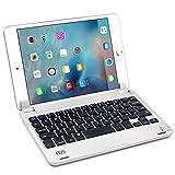 【F.G.S】iPad mini 4 Bluetooth キーボード iPad mini 4がノートパソコンに変身! [JP配列/US配列両方対応] 超薄型 Bluetoothキーボード Micro USBケーブル/日本語取扱説明書付き スタンド機能付き F.G.S 並行輸入品