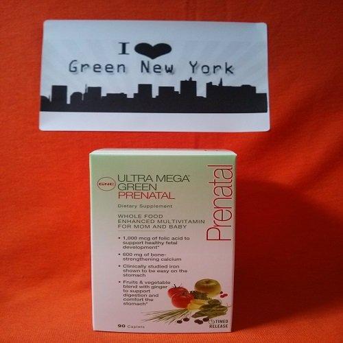 Gnc Ultra Mega Green Prenatal 90 Caplets