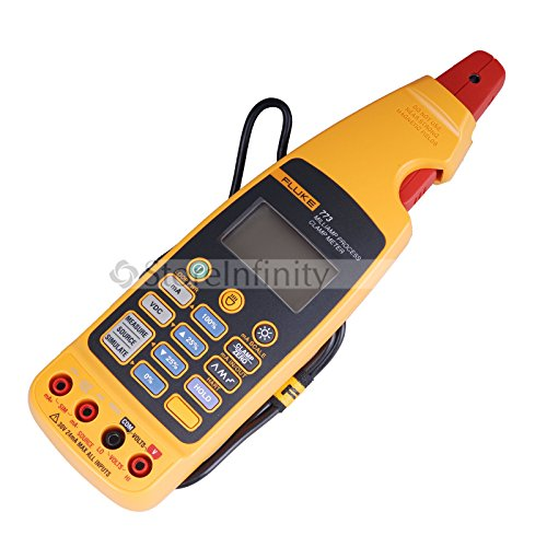 Fluke 773 Advanced Milliamp Process Clamp-Meter, 100Ma Dc, 0.01Ma Resolution, Conductors To 4.5Mm, Voltage Measurement