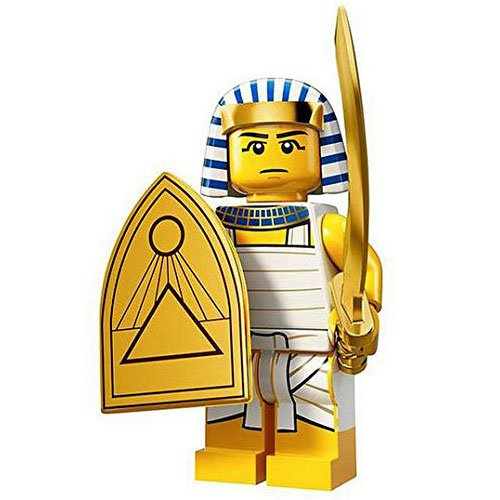 LEGO Minifigures Series 13 Egyptian Warrior Construction Toy - 1