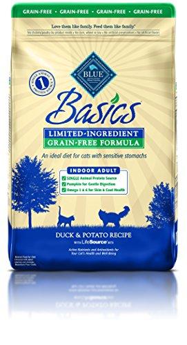 BLUE Buffalo Basics Grain-Free Duck & Potato Recipe For Adult Cats