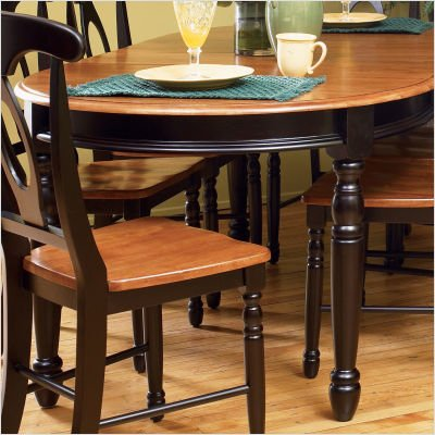 Buy Low Price A-America British Isles Oval Dining Table (BRI-HE-6-31-0 / BRI-HE-2-85-K)