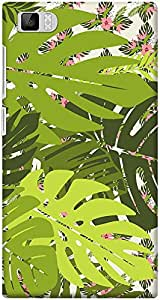 DailyObjects Tropical Ferns Pattern Case For Xiaomi Mi3