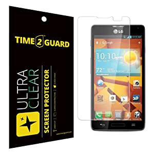 Time 2 Guard Ultra Clear Screen Protector For LG Optimus F7
