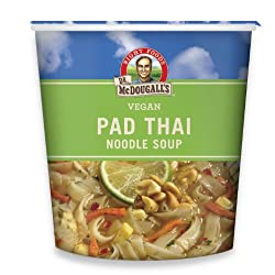 Funny product Dr. McDougall's Right Foods Vegan Pad Thai Noodle Soup, Fresh Flavor, 2-Ounce Cups (Pack of 6)