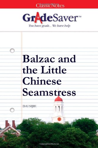 Dai sijies book balzac and the little chinese seamstress essay