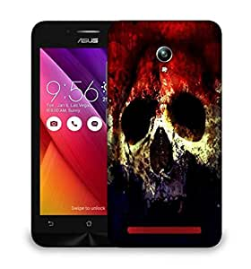 Snoogg Three Skull Designer Protective Phone Back Case Cover For Asus Zenfone GO