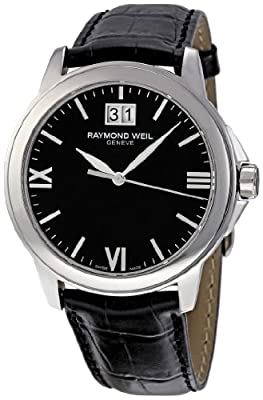 Raymond Weil Men's 5476-ST-00207 Tradition Black Dial Watch