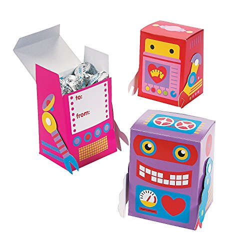 Love Robots Favor Boxes (Love And Robots compare prices)