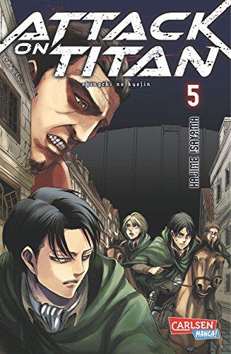 Buchseite und Rezensionen zu 'Attack on Titan, Band 5' von Hajime Isayama