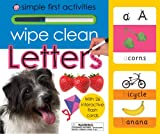Roger Priddy Wipe Clean Letters (Simple First Activities)